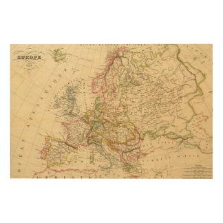 Europa 27 cuadro de madera