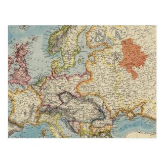 Europa 28 tarjetas postales
