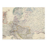 Europa 2 tarjeta postal