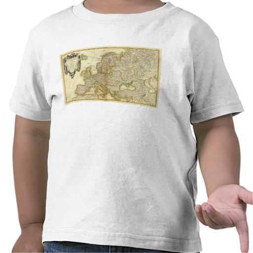 Europa 35 camisetas