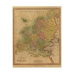 Europa 4 cuadro de madera