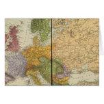 Europa 54 tarjeta de felicitación