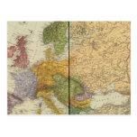 Europa 54 tarjetas postales