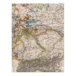 Europa, Alemania, Austria Tarjeta Postal