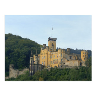 Europa, Alemania, cerca de Coblenza, castillo Postal