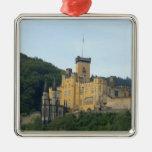 Europa, Alemania, cerca de Coblenza, castillo Schl Ornamento Para Reyes Magos