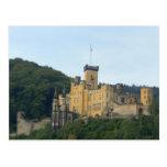Europa, Alemania, cerca de Coblenza, castillo Schl Tarjeta Postal