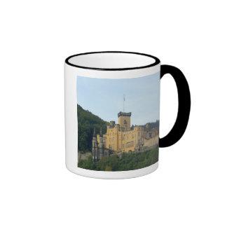 Europa, Alemania, cerca de Coblenza, castillo Schl Tazas De Café