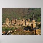 Europa, Alemania, Heidelberg. Castillo Posters
