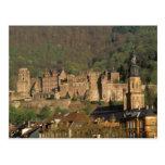 Europa, Alemania, Heidelberg. Castillo Tarjetas Postales