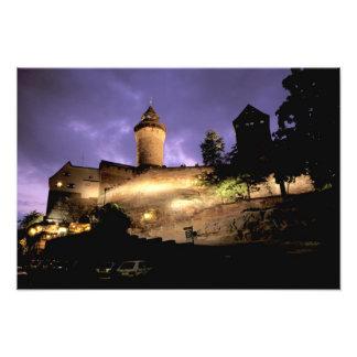 Europa, Alemania, Numberg, castillo imperial Fotografía