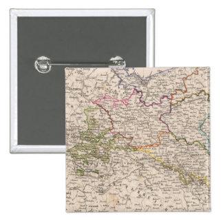 Europa, Alemania, Polonia Pin Cuadrado