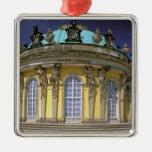 Europa, Alemania, Potsdam. Parque Sanssouci, 2 Adorno Navideño Cuadrado De Metal