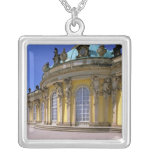 Europa, Alemania, Potsdam. Parque Sanssouci, 3 Collar Plateado