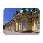 Europa, Alemania, Potsdam. Parque Sanssouci, 3 Rectangle Magnet