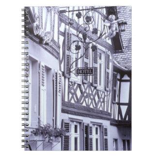 Europa, Alemania, Renania, Palatinado, Boppard. Me Libros De Apuntes Con Espiral