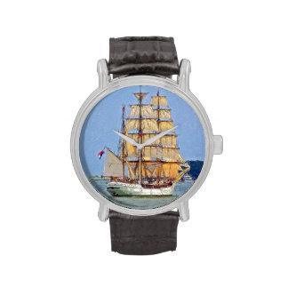 Europa alto de la nave relojes de mano