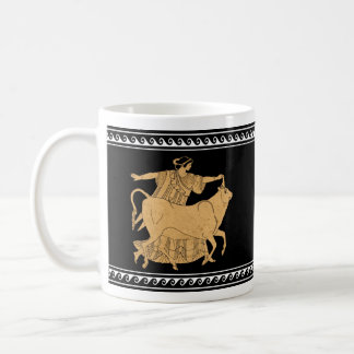 Europa and Zeus Red Figure mug