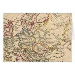 Europa antigua felicitaciones