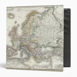 Europa Atlas Map 3 Ring Binder