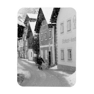 Europa, Austria, Hallstat. Calle Nevado Iman Rectangular