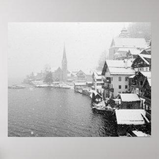Europa, Austria, Hallstat. Opinión de la ciudad en Impresiones
