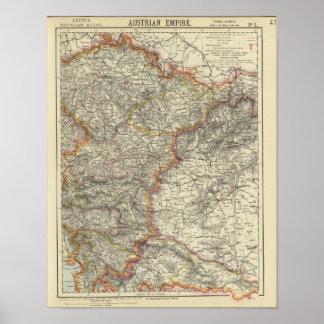 Europa, Austria, República Checa Póster
