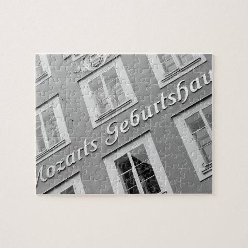 Europa, Austria, Salzburg. El lugar de nacimiento  Puzzles Con Fotos