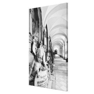 Europa, Austria, Salzburg. Querube y monumento 2 Lienzo Envuelto Para Galerías