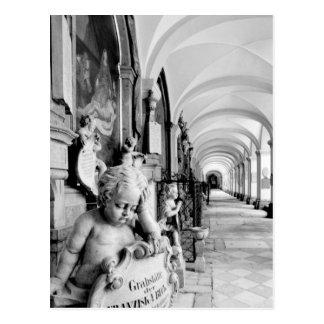 Europa, Austria, Salzburg. Querube y monumento 2 Postales