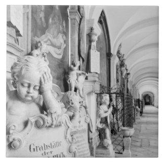 Europa, Austria, Salzburg. Querube y monumento Tejas