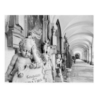 Europa, Austria, Salzburg. Querube y monumento Tarjetas Postales