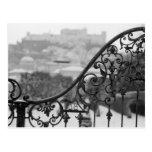 Europa, Austria, Salzburg. Vista de la ciudad Postal