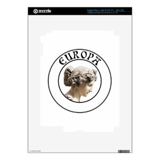 Europa: Be Proud to Show you Euro Roots! Skin For iPad 3