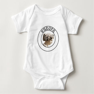 Europa: Be Proud to Show your Euro Roots! Baby Bodysuit