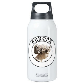Europa: Be Proud to Show your Euro Roots! Insulated Water Bottle