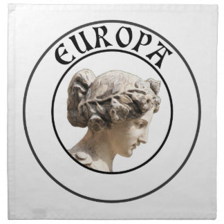 Europa: Be Proud to Show your Euro Roots! Napkin