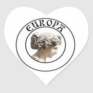 Europa: Be Proud to Show your Euro Roots! Stickers