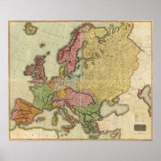 Europa compuesta poster