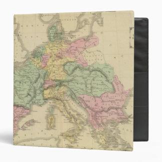 """Europa continental carpeta 1 1/2"""""""