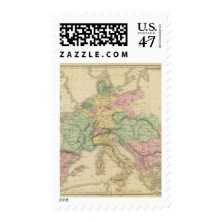 Europa continental timbres postales