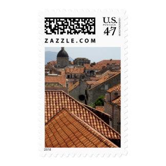 Europa, Croacia. Ciudad emparedada medieval de 2 Sello