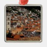 Europa, Croacia. Ciudad emparedada medieval de Ornamentos De Reyes