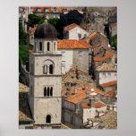 Europa, Croacia. Ciudad emparedada medieval de Posters