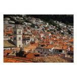 Europa, Croacia. Ciudad emparedada medieval de Fotografías