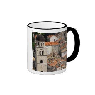 Europa Croacia Ciudad emparedada medieval de Tazas De Café