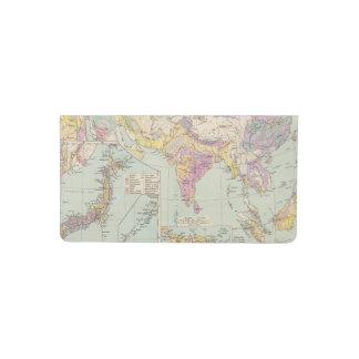 Europa de Asien u - mapa del atlas de Asia y de