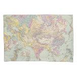 Europa de Asien u - mapa del atlas de Asia y de Funda De Cojín