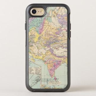 Europa de Asien u - mapa del atlas de Asia y de Funda OtterBox Symmetry Para iPhone 7