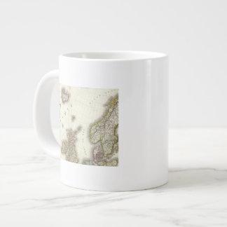Europa del noroeste taza de café grande